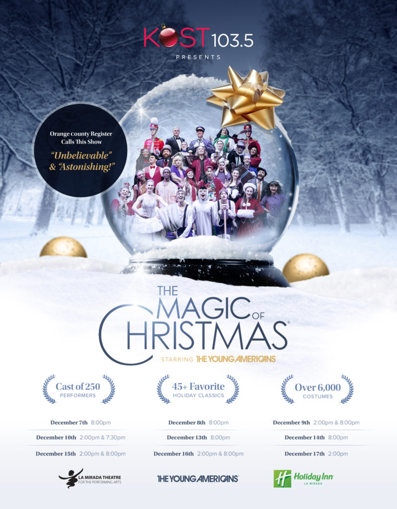 Young Americans Magic of Christmas