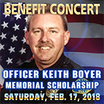 The Officer Keith Boyer Memorial Rock Concert