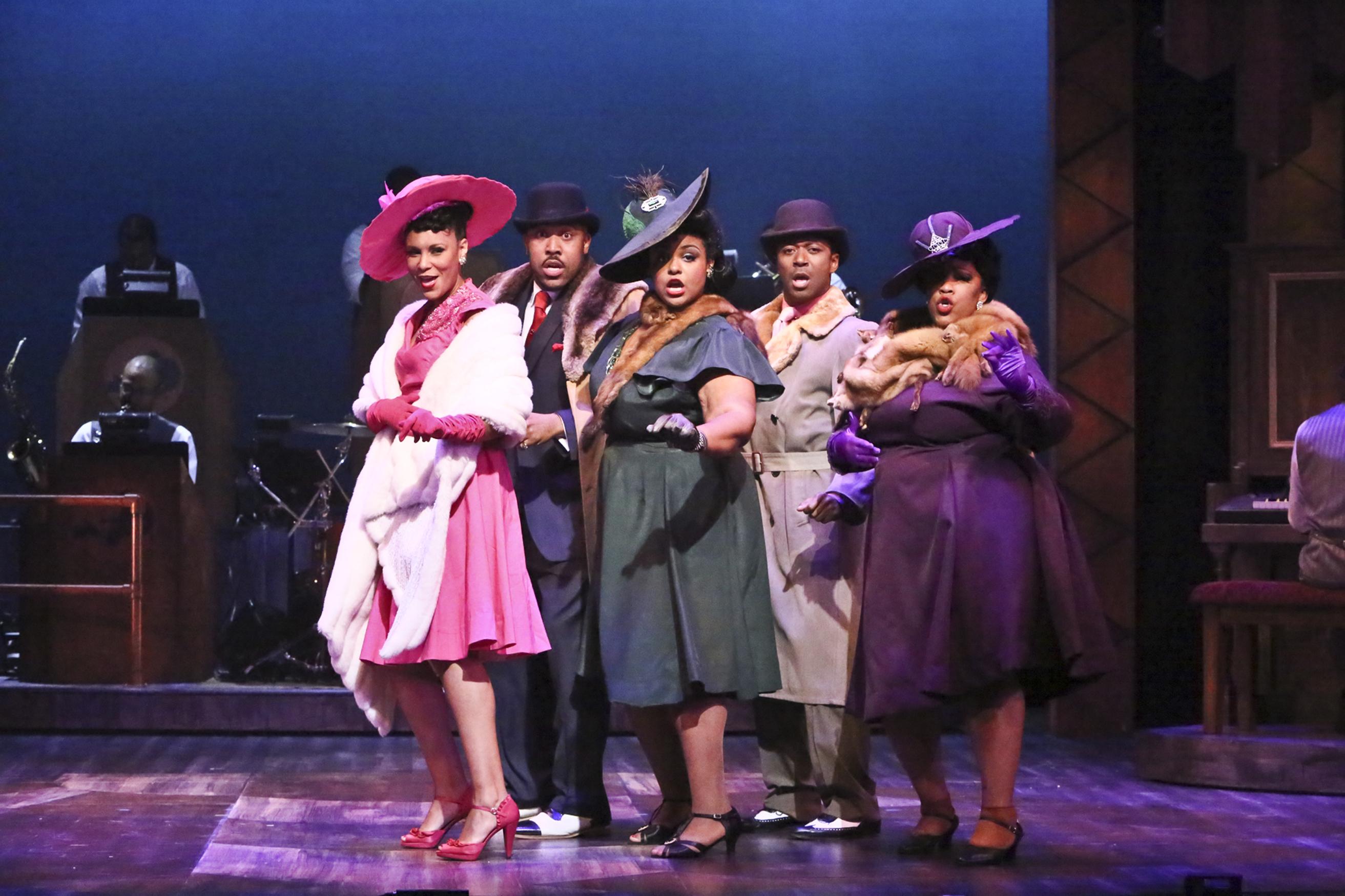 Ain't Misbehavin' Cast - Photo by Michael Lamont