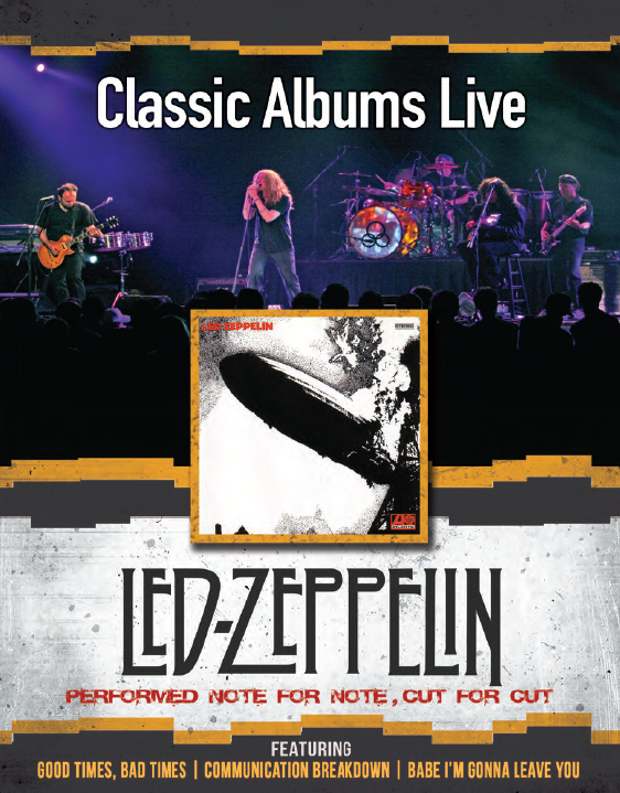 Classic Albums Live performs Led Zeppelin