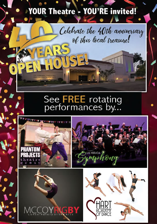 40th Anniversary Open House
