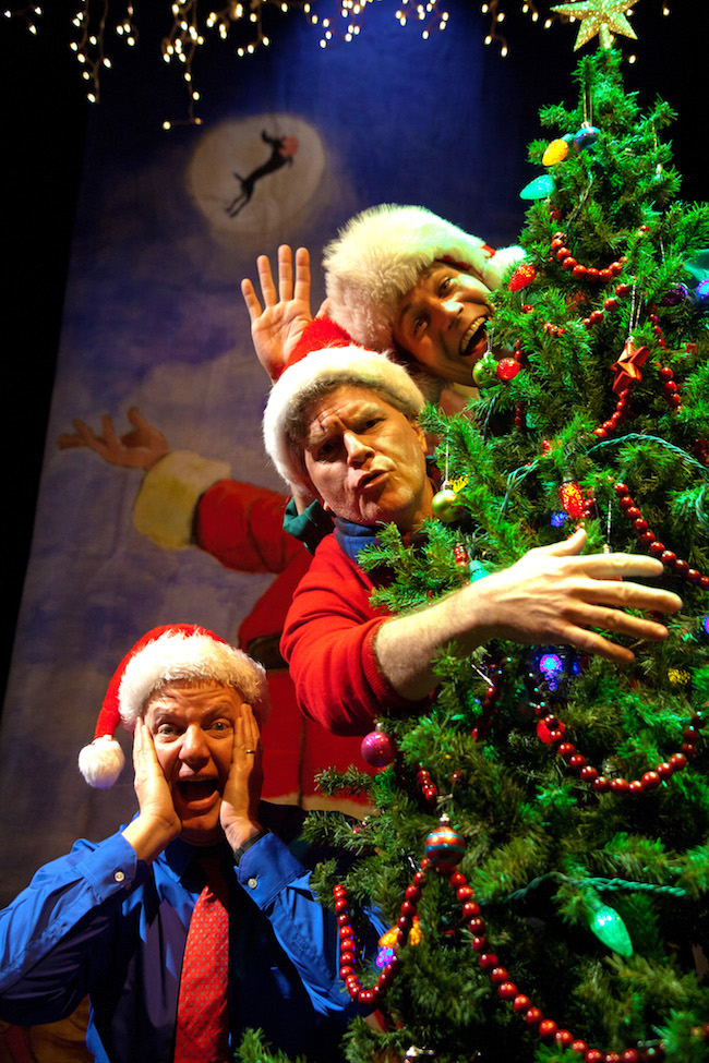 Reduced Shakespeare Company in Ultimate Christmas (abridged)