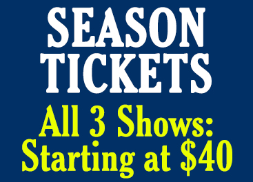 Phantom Project Season Tickets - All 3 shows for $40